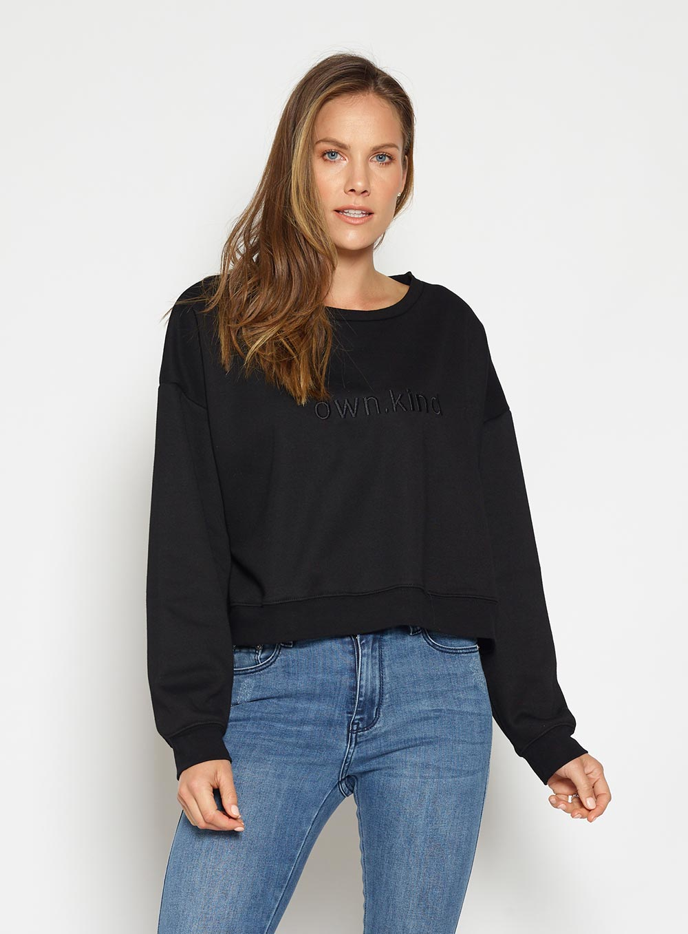 Own Kind Sweater-Black - Own Kind Australia