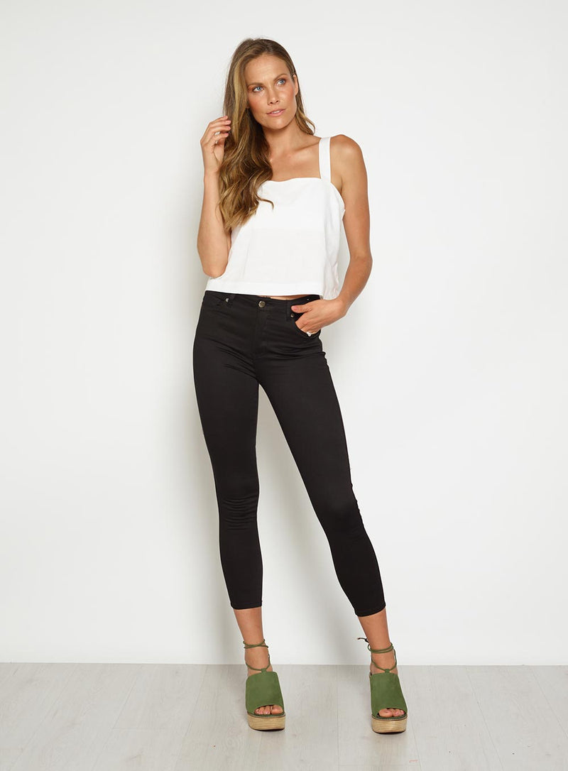7/8 Gelato Jeans-Black - Own Kind Australia