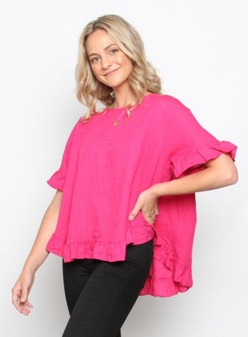 Lia Top-PINK - Own Kind Australia
