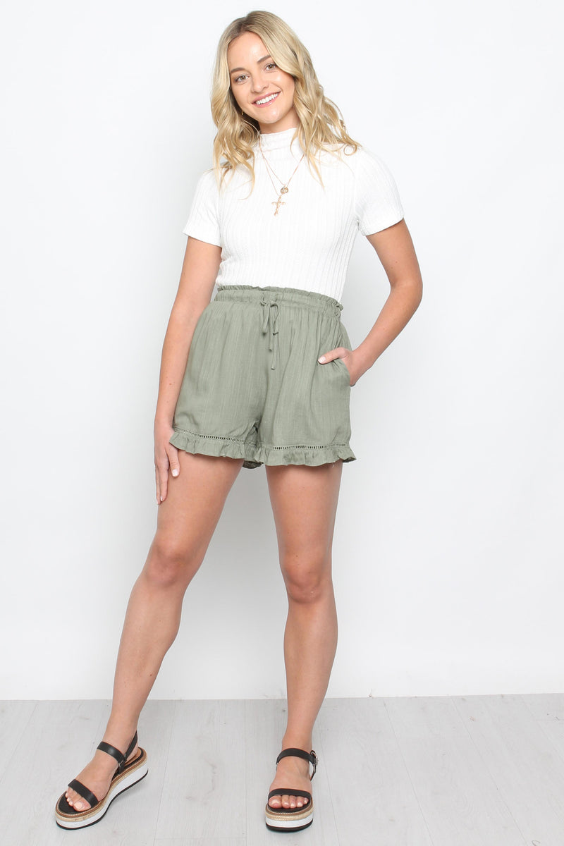 Finch Short-KHAKI - Own Kind Australia