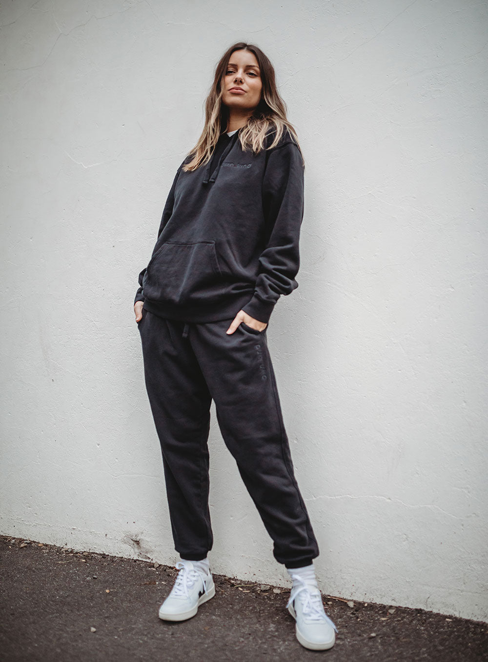 Union Trackpant-Black