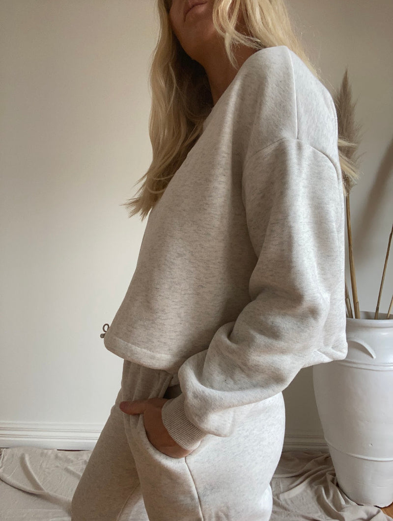 Relax Trackset Top-Grey