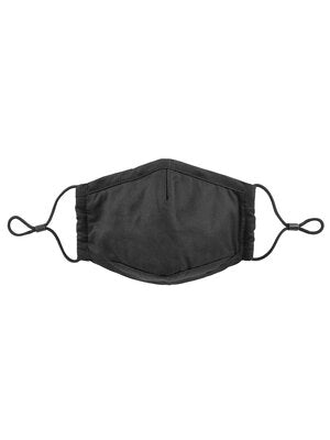 River Cotton Mask-Black