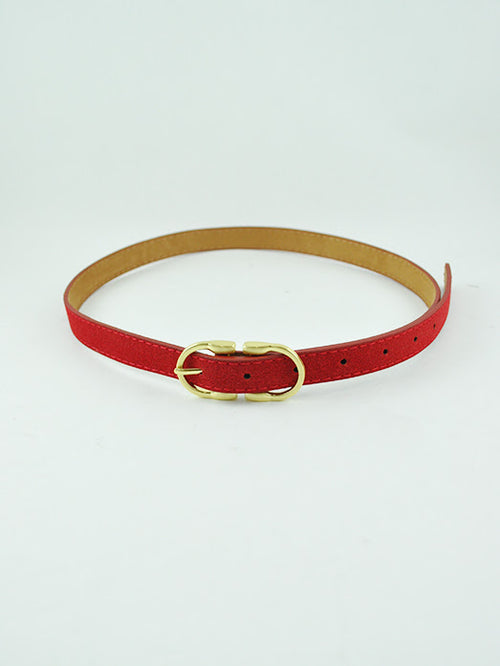 Lux Thin Belt-RED