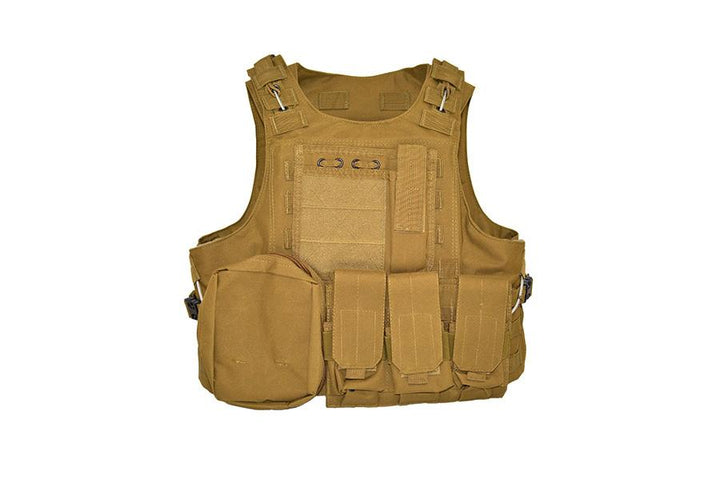 NIJ IIIA Bulletproof Vest - Flat Dark Earth