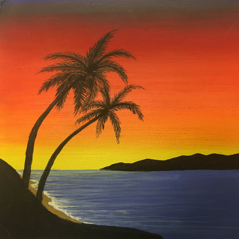 "Paint Night ""Sunset Beach"" -  April 25, 2020"