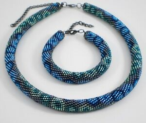 Beading workshop: Crochet Rope Jewelery