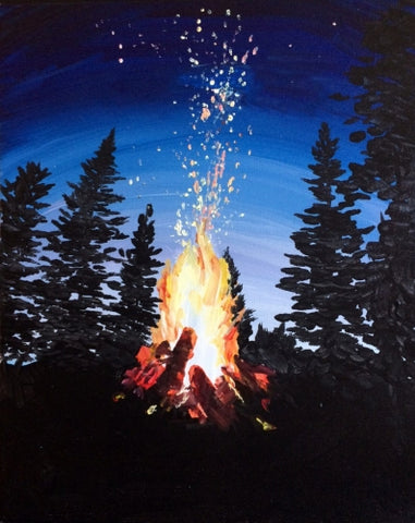 PAINT NIGHT: Campfire