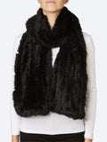 Yeltuor - 365 DAYS - SCARVES - 365 DAYS FUR SCARF - BLACK -  ALL