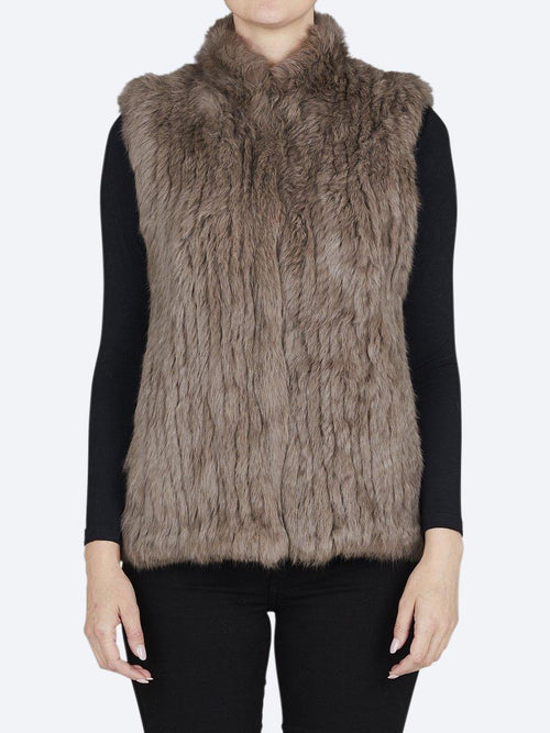 Yeltuor - 365 DAYS - Jackets & Coats - 365 DAYS HIGH NECK FUR VEST -  -