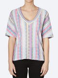 Yeltuor - ALDO MARTINS - Tops - ALDO MARTINS BELLO V NECK TOP -  -