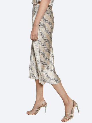Yeltuor - BEC & BRIDGE - Skirts - BEC & BRIDGE PYTHON MIDI SKIRT -  -