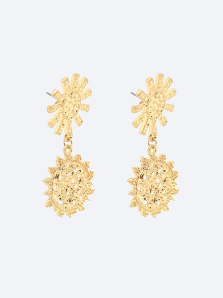 Yeltuor - BLING BAR - Accessories & Shoes - BLING BAR GIRASOLE STATEMENT EARRINGS -  -