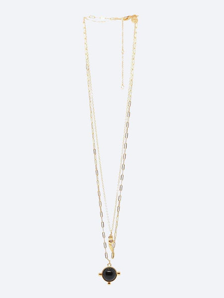 Yeltuor - BLING BAR - Accessories & Shoes - BLING BAR AJA STONE NECKLACE SET -  -