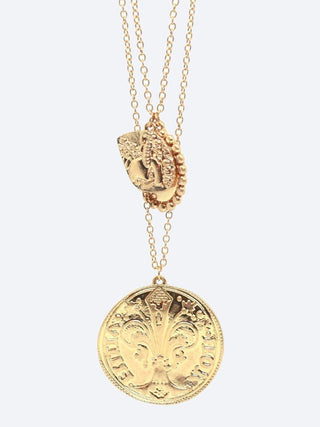 Yeltuor - BLING BAR - Accessories & Shoes - BLING BAR THE GREAT'S COIN NECKLACE SET -  -