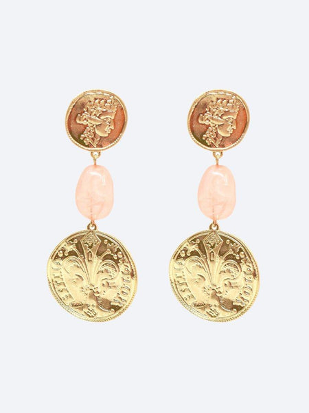 Yeltuor - BLING BAR - Accessories & Shoes - BLING BAR THE GREAT'S COIN EARRINGS -  -