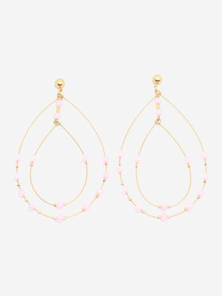 Yeltuor - BLING BAR - JEWELLERY - BLING BAR PORTOFINO EARRINGS - GOLD/ROSE -  N/A
