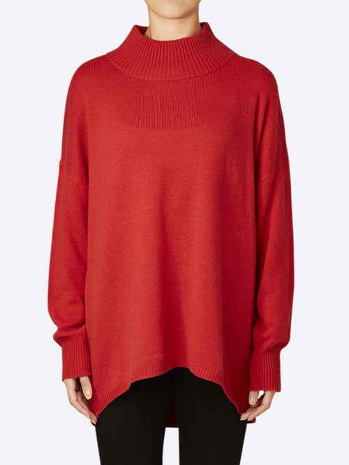Yeltuor - BRIDGE AND LORD - Knitwear - BRIDGE & LORD HIGH NECK CURVE BACK PULLOVER -  -
