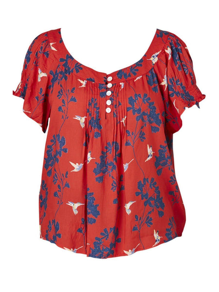 Yeltuor - CAKE/HB STUDIOS - Tops - CAKE MARILYN TOP - BIRDS -  S