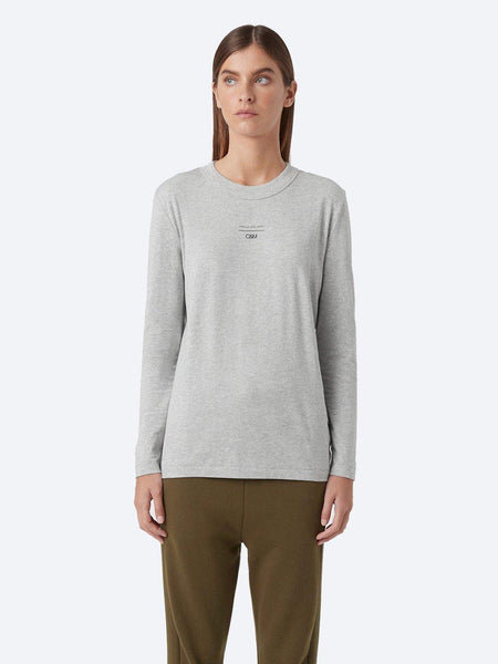 Yeltuor - CAMILLA AND MARC - Tops - C&M by CAMILLA AND MARC AGNES L/S TEE - GREY MARLE -  6