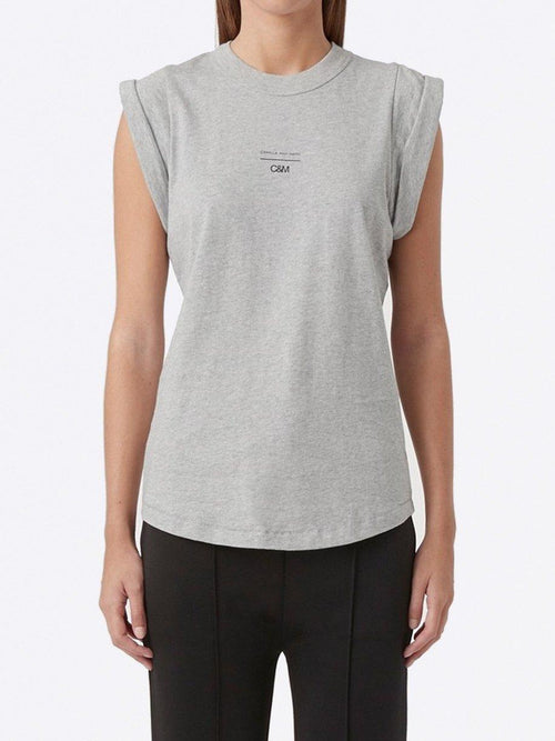 Yeltuor - CAMILLA AND MARC - Tops - CAMILLA AND MARC C&M AGNES TANK - GREY MARLE -  6
