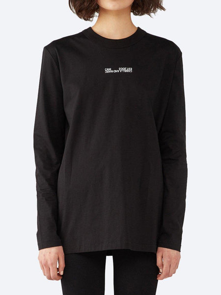 Yeltuor - CAMILLA AND MARC - Tops - CAMILLA AND MARC C&M ALTHEA LONGSLEEVE TEE - Black -  6