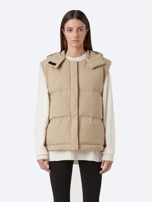 Yeltuor - CAMILLA AND MARC - VESTS - C&M by CAMILLA AND MARC DAWN PUFFER VEST -  -