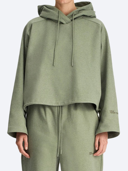 C&M CAMILLA AND MARC LIMIA CROPPED HOODIE