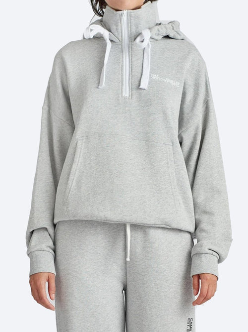 Yeltuor - CAMILLA AND MARC - Tops - CAMILLA AND MARC C&M LOGAN 2.0 HOODIE - GREY MARLE -  6