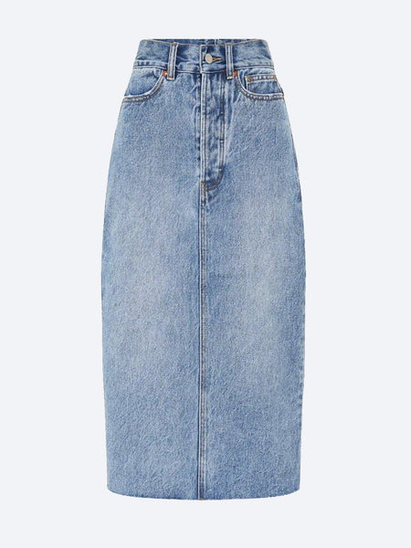 Yeltuor - CAMILLA AND MARC - Skirts - CAMILLA AND MARC C&M PENELOPE MIDI DENIM SKIRT -  -