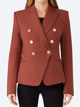 Yeltuor - CAMILLA AND MARC - Jackets & Coats - CAMILLA AND MARC BLAKE DIMMER BLAZER - CINNAMON -  6