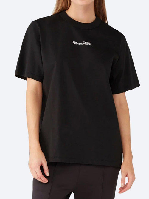 Yeltuor - CAMILLA AND MARC - Tops - CAMILLA AND MARC C&M GEORGE 2.0 TEE - Black -  6