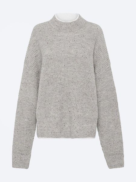 Yeltuor - CAMILLA AND MARC - Tops - CAMILLA AND MARC C&M LAMBSWOOL TRINITY SWEATER -  -