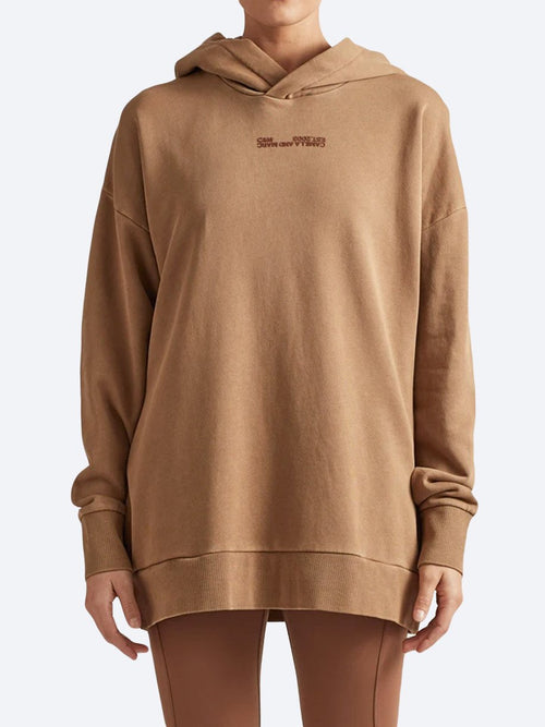 Yeltuor - CAMILLA AND MARC - Tops - C&M CAMILLA AND MARC TURNER OVERSIZED HOODIE - RUST -  6