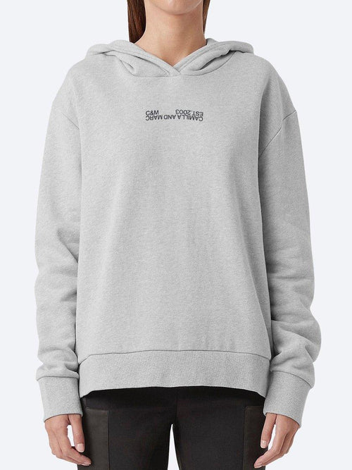 Yeltuor - CAMILLA AND MARC - Tops - CAMILLA AND MARC C&M DENVER HOODIE - GREY MARLE -  6