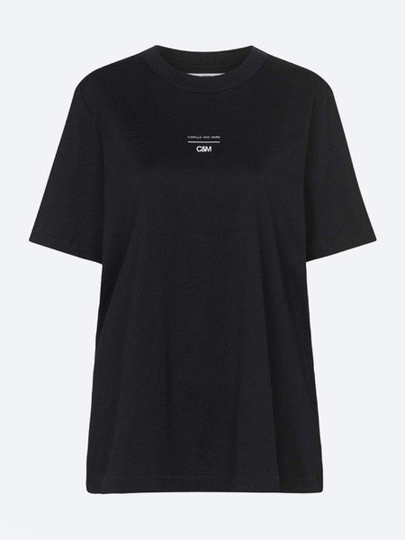 Yeltuor - CAMILLA AND MARC - Tops - C&M by CAMILLA AND MARC GEORGE TEE - BLACK -  6