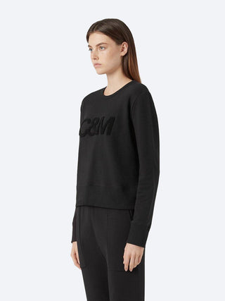 Yeltuor - CAMILLA AND MARC - TOPS - C&M by CAMILLA & MARC OWENS LOGO CREW JUMPER -  -