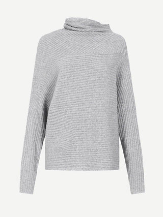 Yeltuor - CAMILLA AND MARC - Knitwear - CAMILLA & MARC KAIA ASYMMETRIC TURTLENECK -  -