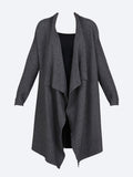 Yeltuor - CONCHITA - Jackets & Coats - CONCHITA WATERFALL CARDI -  -