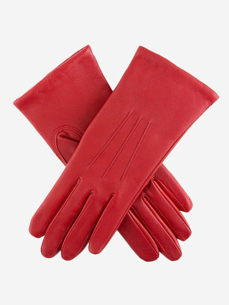 Yeltuor - DENTS - GLOVES - DENTS EMMA CLASSIC LEATHER GLOVES - BERRY -  7