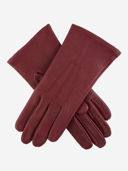 Yeltuor - DENTS - GLOVES - DENTS EMMA CLASSIC LEATHER GLOVES - CLARET -  7