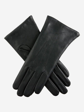 Yeltuor - DENTS - GLOVES - DENTS ISABELLE CASHMERE LINED LEATHER GLOVES - BLACK -  7