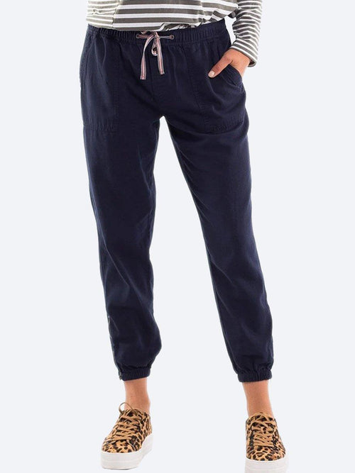 Yeltuor - ELM - Pants - ELM FLORENCE PANT - NAVY -  10