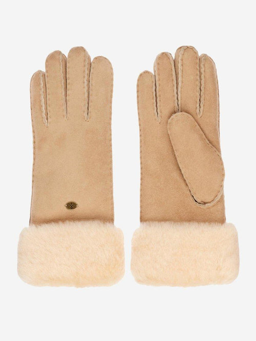 Yeltuor - EMU - GLOVES - EMU APOLLO BAY SHEEPSKIN GLOVES - CHESTNUT -  XS-S