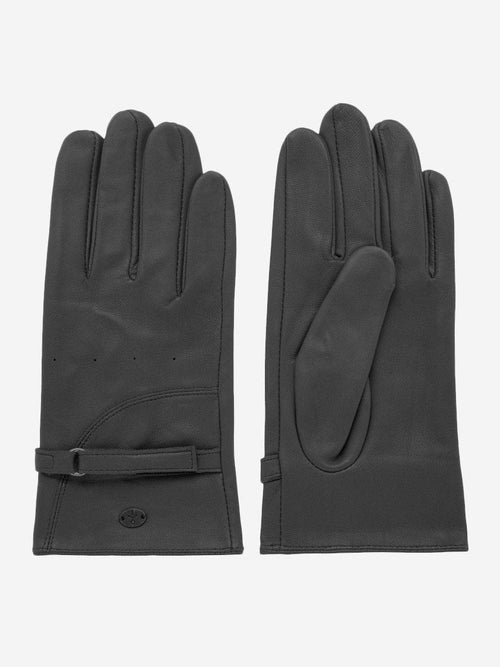 Yeltuor - EMU - GLOVES - EMU GINROCK LEATHER GLOVES - BLACK -  XS-S