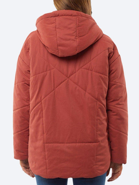 Yeltuor - ELM - Jackets & Coats - ELM ZADIE PUFFER HOODED JACKET -  -