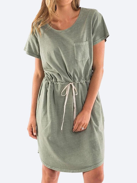 Yeltuor - ELM - Dresses - ELM HARPER DRESS - KHAKI -  8