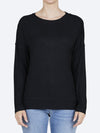 Yeltuor - ELM - Tops - ELM MONICA LONG SLEEVE TEE - Black -  8