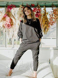 Yeltuor - EMPIRE ROSE - Pants - EMPIRE ROSE OLYMPIA SLIM SWEAT PANT -  -