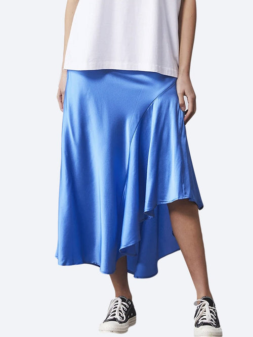 Yeltuor - ENA PELLY - Skirts - ENA PELLY ASYMMETRICAL SLIP SKIRT -  -